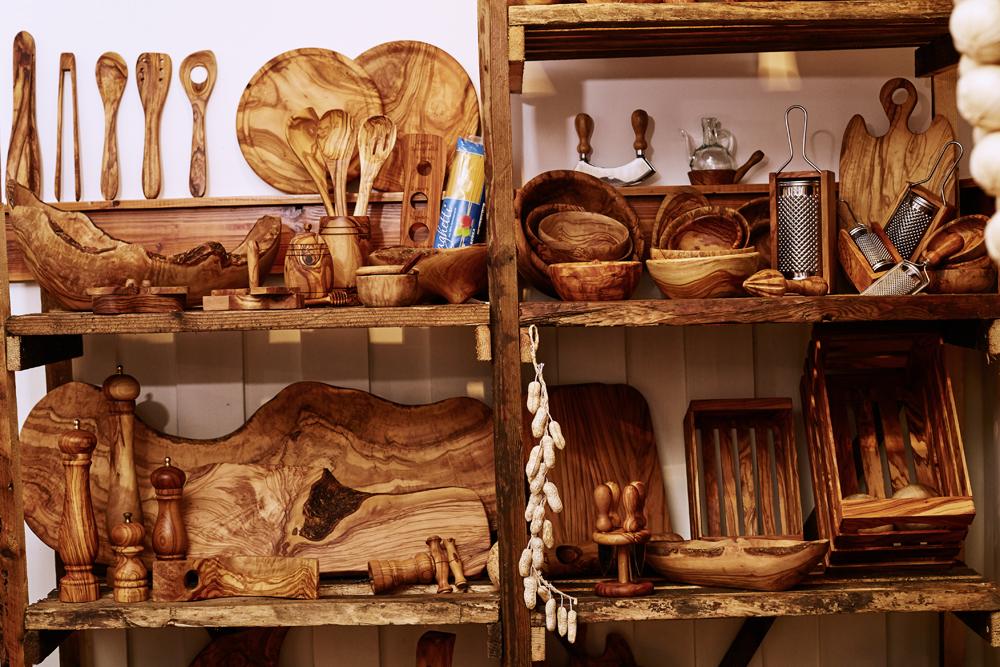 Olivenholz Shop